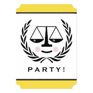 Convite de festas do advogado