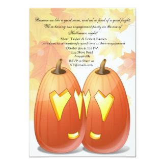 Convite de festas do amor do Dia das Bruxas
