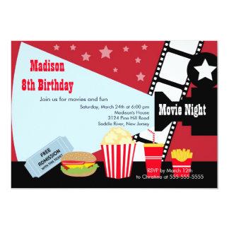 Convite de festas do aniversário de criança da