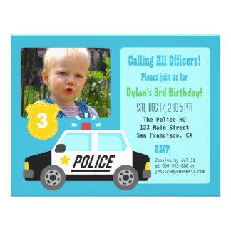 Convite de festas do aniversário de criança do