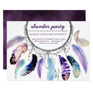 convite de festas do descanso do Sonho-coletor
