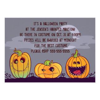 Convite de festas do Dia das Bruxas