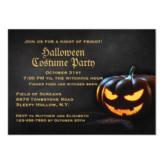 Convite de festas do Dia das Bruxas da
