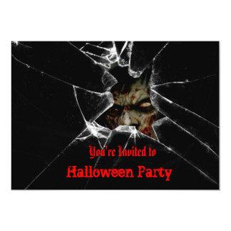 Convite de festas do Dia das Bruxas dos zombis