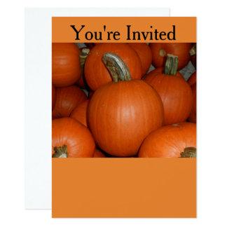 Convite de festas do Dia das Bruxas ou da queda