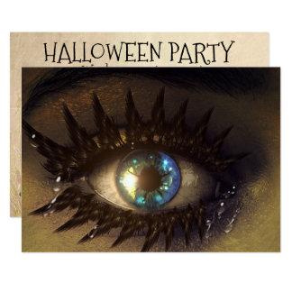Convite de festas do Dia das Bruxas personalizado