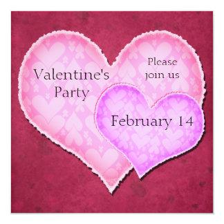Convite de festas do dia dos namorados