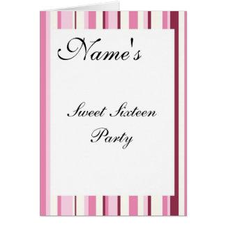 Convite de festas do doce dezesseis