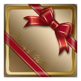 Convite de festas do Feliz Natal