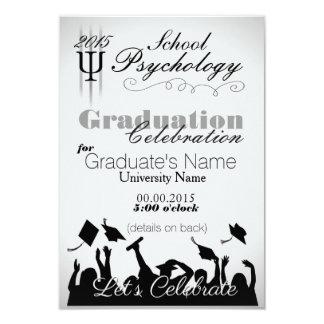 Convite de festas do formando da psicologia da