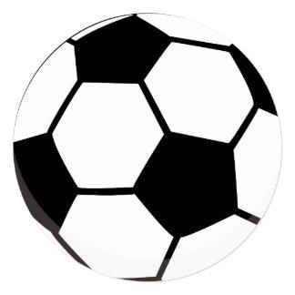 Convite de festas do futebol do futebol   do tema