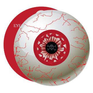 Convite de festas do globo ocular do Dia das