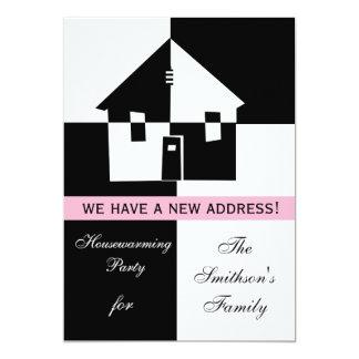 Convite de festas do Housewarming
