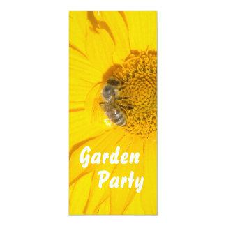 Convite de festas do jardim