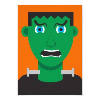 Convite de festas do monstro de Frankenstein