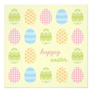 Convite de festas do piquenique dos ovos da páscoa