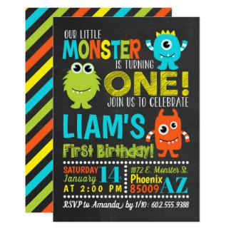 Convite de festas do primeiro aniversario do
