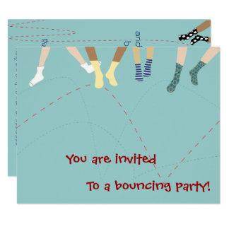 Convite de festas do salto