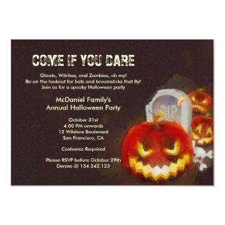 Convite de festas do traje da lanterna do Dia das