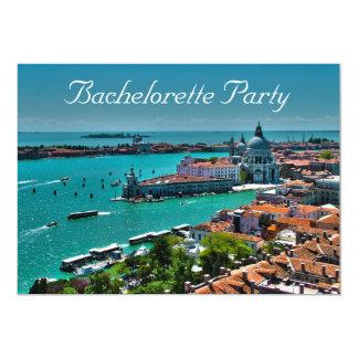 Convite de festas do Venetian-Estilo de