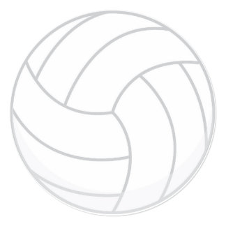 Convite de festas do voleibol do tema dos esportes