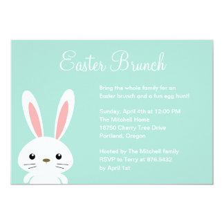 Convite de festas doce da páscoa do coelho convite 12.7 x 17.78cm