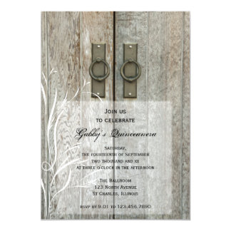 Convite de festas elegante de Quinceañera das