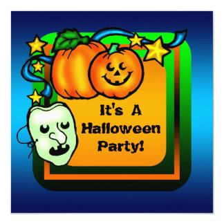 Convite de festas feliz do Dia das Bruxas