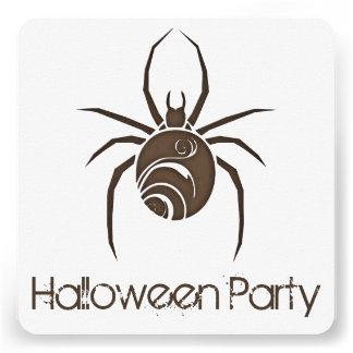 Convite de festas grande 2 do Dia das Bruxas da