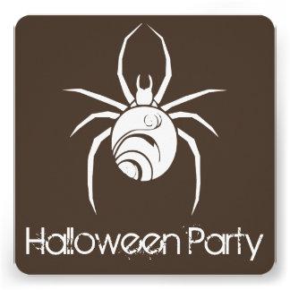 Convite de festas grande do Dia das Bruxas da