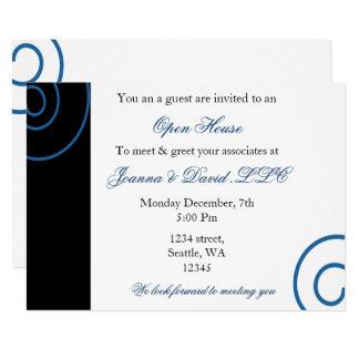 Cartão Convite de festas incorporado do divertimento