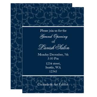 Cartão Convite de festas incorporado elegante