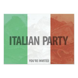 convite de festas italiano