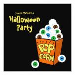 Convite de festas louco do Dia das Bruxas dos Convite Quadrado 13.35 X 13.35cm