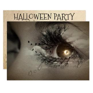 Convite de festas Mystical dos olhos do Dia das