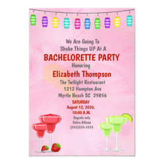 Convite de festas nupcial de Bachelorette do