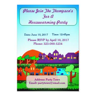 Convite de festas personalizado do Housewarming