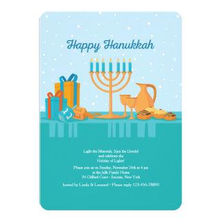 Convite de Hanukkah