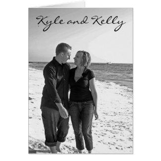 Convite de Kyle e de Kelly