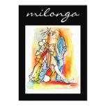 Convite de Milonga do tango