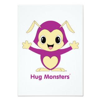 Convite de Monsters® do abraço