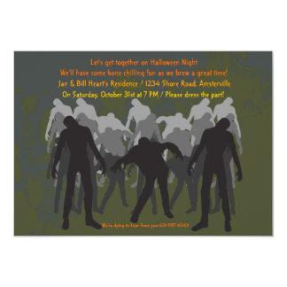 Convite de passeio dos zombis
