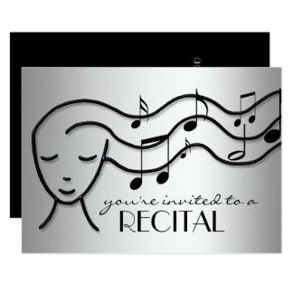 convite de prata do considerando da música do