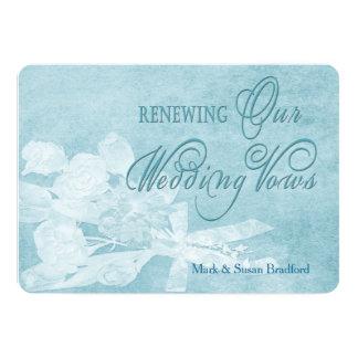 Convite de renovação dos votos de casamento -