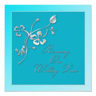 Convite de renovação dos votos de casamento