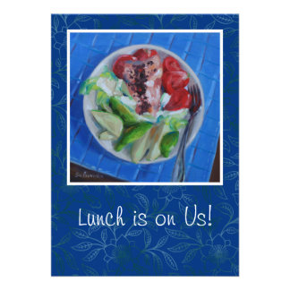 Convite do almoço