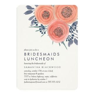 Convite do almoço das damas de honra das papoilas