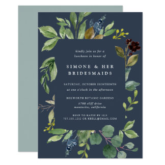 Convite do almoço das damas de honra do bosque do