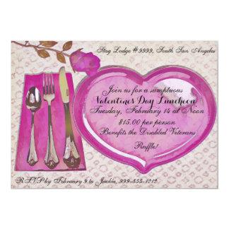 Convite do almoço do dia dos namorados
