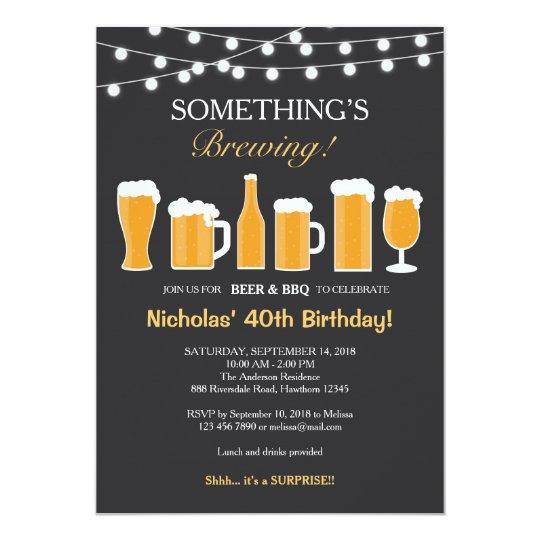 Free Funny Birthday Invitations For Adults: Convite Do Aniversário Da Cerveja, Aniversário